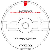 DT001CD: Darren Tate - Elephant (R U Ready?) / Pulse
