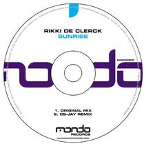 MND009CD: Rikki de Clerck - Sunrise
