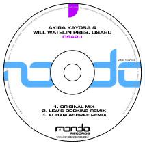 MND107CD: Akira Kayosa & Will Watson pres. Osaru - Osaru