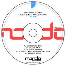 MND162CD: Jurgen Vries feat. Desi Valentine - Alive