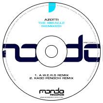 MND164CD: Azotti - The Miracle (Remixes)