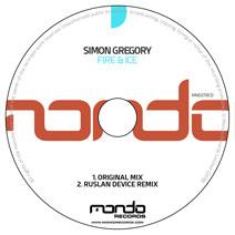 MND270CD: Simon Gregory - Fire & Ice