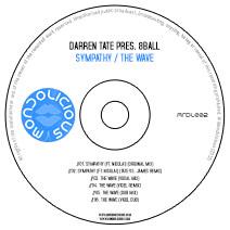 MNDL002CD: Darren Tate pres. 8 Ball - Sympathy / The Wave