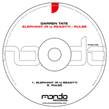 DT001CD: Darren Tate - Elephant (R U Ready?) / Pulse