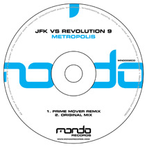 MND002CD: JFK vs Revolution 9 - Metropolis