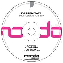 MND023CD: Darren Tate - Horizons 01 EP