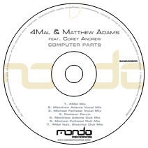 MND058CD: 4Mal & Matthew Adams feat. Corey Andrew - Computer Parts