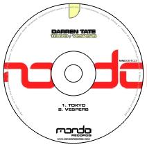 MND081CD: Darren Tate - Tokyo / Vespers