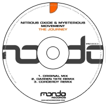 MND083CD: Nitrous Oxide & Mysterious Movement - The Journey