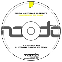 MND087CD: Akira Kayosa & Ultimate - Diamonds To Dust