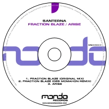 MND096CD: Santerna - Fraction Blaze / Arise