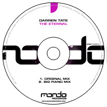 MND108CD: Darren Tate - The Eternal