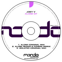 MND117CD: Joey V - Alone EP