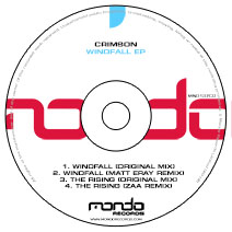 MND137CD: Crimson - Windfall EP
