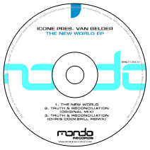 MND138CD: Icone pres. Van Gelder - The New World EP