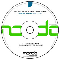 MND139CD: Ali Wilson & Lee Osborne - Living Without You