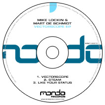 MND146CD: Mike Lockin & Mart De Schmidt - Vectorscope EP