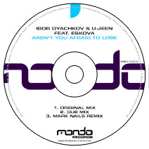 MND156CD: Igor Dyachkov & U-Jeen feat. Eskova - Aren't You Afraid To Lose