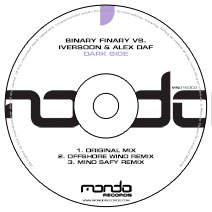 MND163CD: Binary Finary vs. Iversoon & Alex Daf - Dark Side