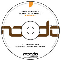 MND170CD: Mike Lockin & Mart De Schmidt - Eminent