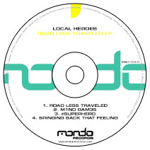 MND173CD: Local Heroes - Road Less Traveled EP