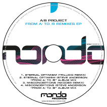 MND187CD: A/B Project - From A/ To /B Remixes EP