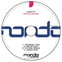 MND189CD: Azotti - Back Again