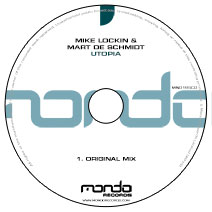 MND195CD: Mike Lockin & Mart De Schmidt - Utopia