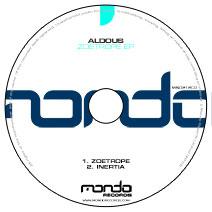 MND212CD: Aldous - Zoetrope EP