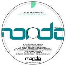 MND213CD: Up & Forward - Aquamarine Remixed
