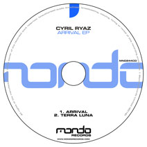 MND244CD: Cyril Ryaz - Arrival EP