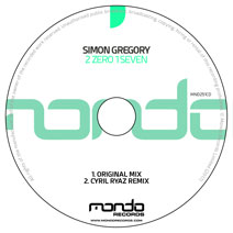 MND251CD: Simon Gregory - 2 Zero 1 Seven