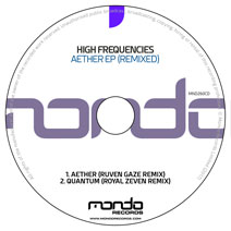 MND260CD: High Frequencies - Aether EP (Remixed)