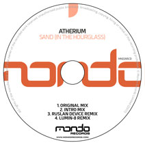 MND265CD: Atherium - Sand (In The Hourglass)