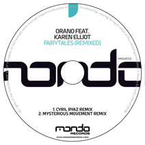 MND267CD: Orano feat. Karen Elliot - Fairytales (Remixed)