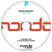 MND270CD: Simon Gregory - Fire & Ice