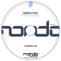 MND287CD: Huem & T.O.M. - Rocket Science