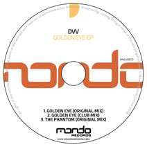 MND288CD: DVV - Golden Eye EP
