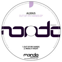 MND302CD: Aldous - Out Of My Hands EP