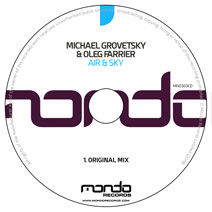 MND303CD: Michael Grovetsky & Oleg Farrier - Air & Sky