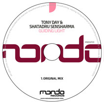 MND321CD: Tony Day & Shatadru Sensharma - Guiding Light