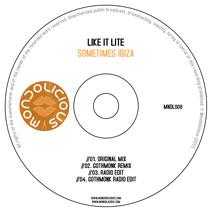 MNDL008CD: Like It Lite - Sometimes Ibiza
