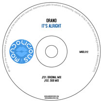 MNDL012CD: Orano - It's Alright