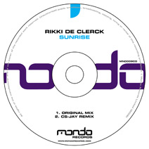 MND009CD: Rikki de Clerck - Sunrise
