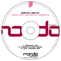 MND022CD: Digital Delay - Love Put Us Into A Groove