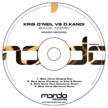 MND042CD: Kris O'Neil & Daniel Kandi - Back Home