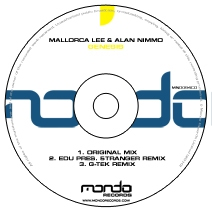 MND094CD: Mallorca Lee & Alan Nimmo - Genesis