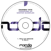 MND098CD: Darren Tate - Horizons 03 Winter Sampler