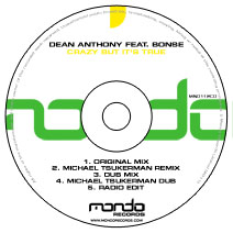 MND112CD: Dean Anthony feat. Bonse - Crazy But It's True
