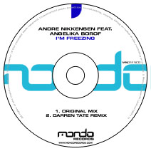 MND115CD: Andre Nikkensen feat. Angelika Borof - I'm Freezing